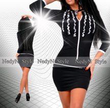 NedyN Poly  fodros cipzáros női ruha