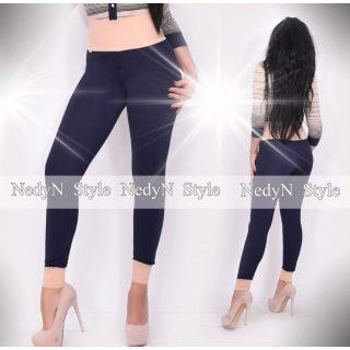 NedyN kék barna magas derekú női legging