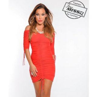 MISSQ piros  Cini ruha S-es