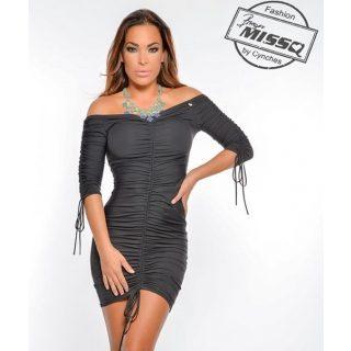 MISSQ fekete Cini ruha S-es