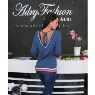 Farmer kék kötött pulcsi