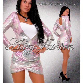 LILI flitteres alkalmi női ruha XS-es