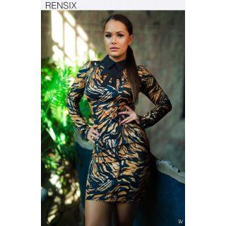 RENSIX TIGRIS mintás passzos női ruha