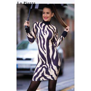 La pierre tigris mintás garbós női ruha