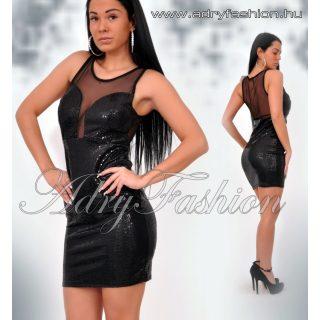 Alkalmi Fekete flitteres party ruha