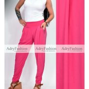 Pink színű zsebes  nadrág
