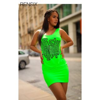 Rensix UV zöld trikó ruha