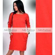 Rock feliratos piros ruha