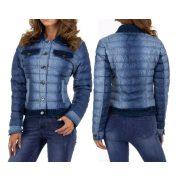 Farmer hatású pufi dzseki vékony átmeneti őszi dzseki kabát