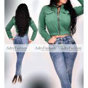 Brigi zöld mini dzseki