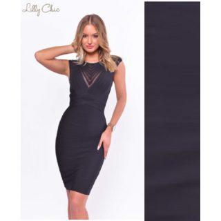 Lilly Chic elegáns alkalmi Bandage alakformáló női ruha S es