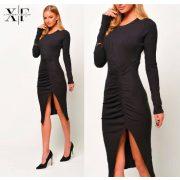 X-Factory bordás kötött női ruha S es