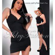 Missq E. Megane  fekete alkalmi női ruha