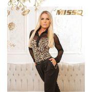 MISSQ Mona body leopárd mintás