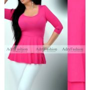 Missq  pink Sugár tunika Magenta színű S-es