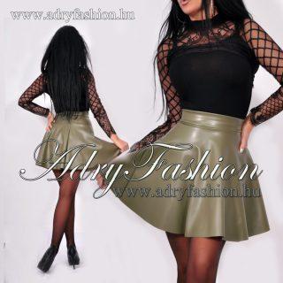 Fekete elegáns alkalmi női felső csipke díszes - szoknya nélkül - fekete