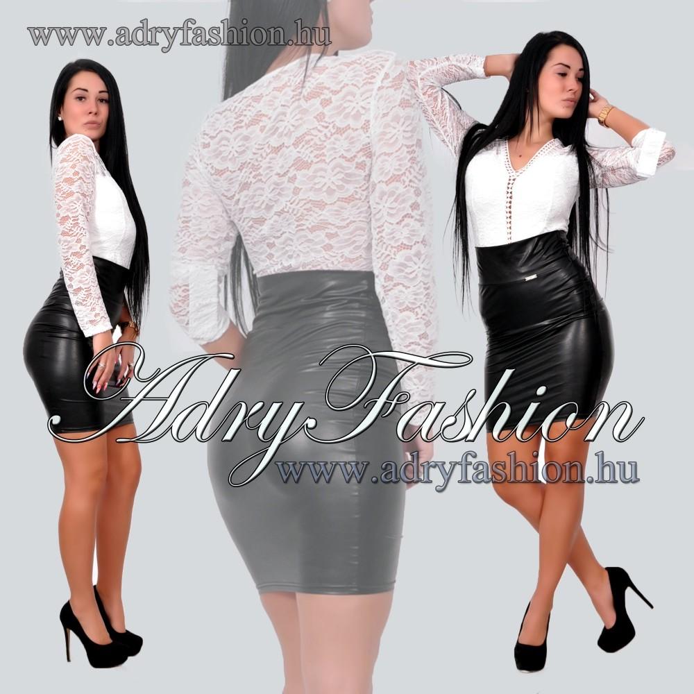 fe6d7f5beb Elegáns alkalmi fehér csipke női body - AdryFashion női ruha ...