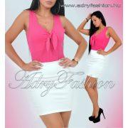 Pink Mellénél megkötős női trikó