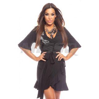 MISSQ Rumbo női ruha fekete színű