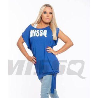 MISSQ Julietta 2in1 felső kék-fehér