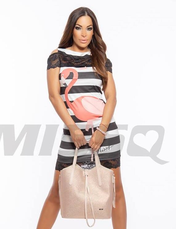 bfff729ff2 MISSQ flamingo Sierra ruha - AdryFashion női ruha webáruház, Ruha ...