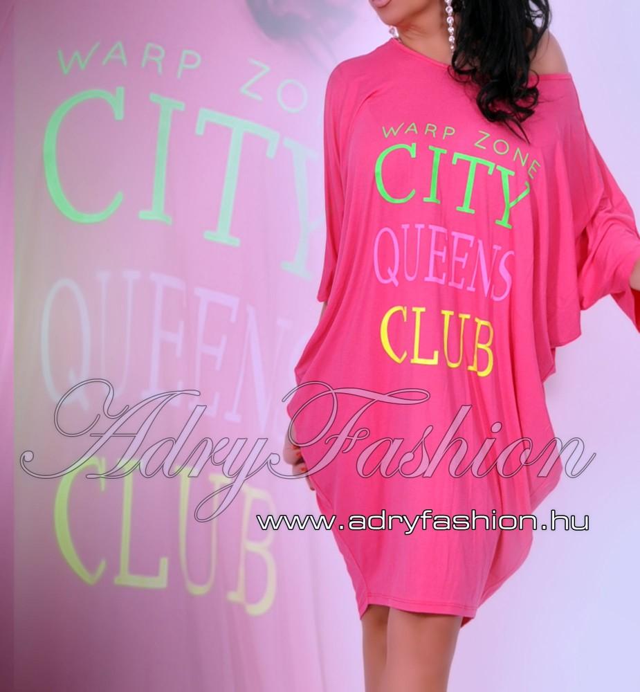 e79135436f Warp Zone laza női ruha/tunika rózsaszín - AdryFashion női ruha ...