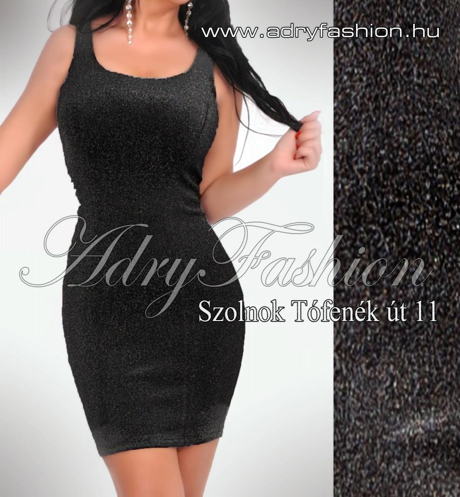 4170a952f9 Fekete csillogós alkalmi női ruha - AdryFashion női ruha webáruház ...