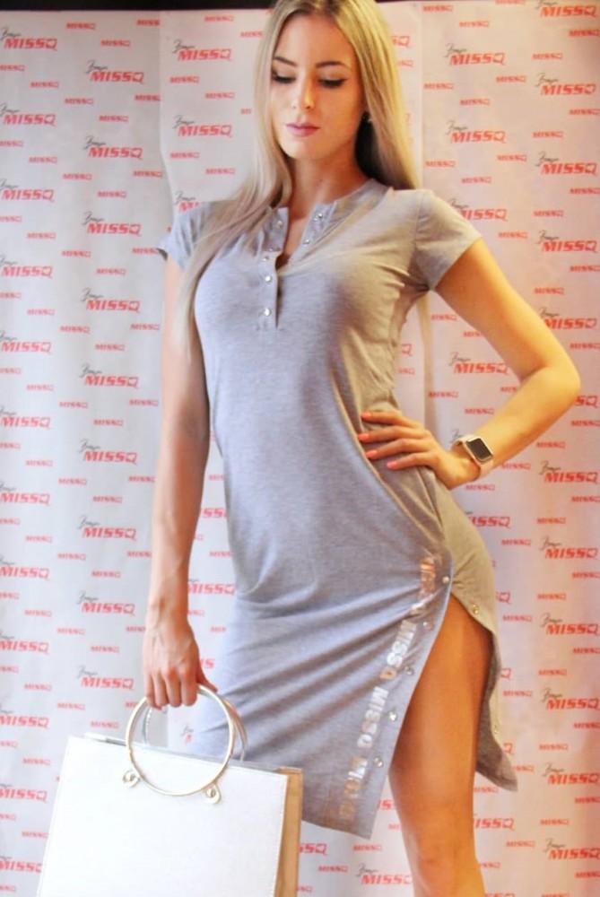 a2d49e2ddc MISSQ E.Patent ruha szürke S-es - AdryFashion női ruha webáruház ...