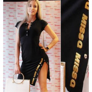 MISSQ E.Patent ruha fekete S-es