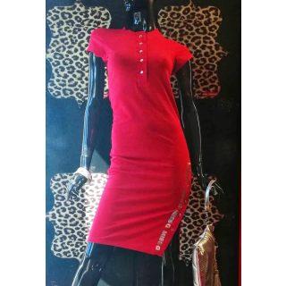 MISSQ E.Patent ruha piros S-es