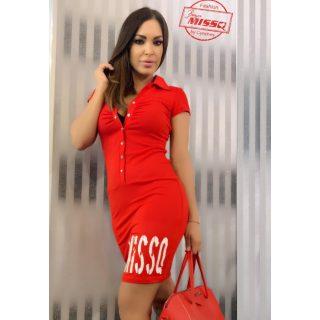 MISSQ E.Melis ruha piros S-es