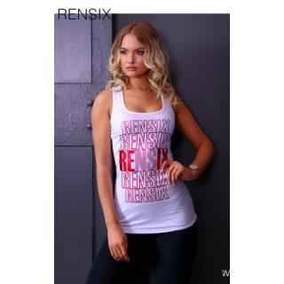 RENSIX fehér piros trikó
