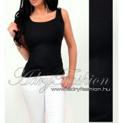 Fekete basic női trikó