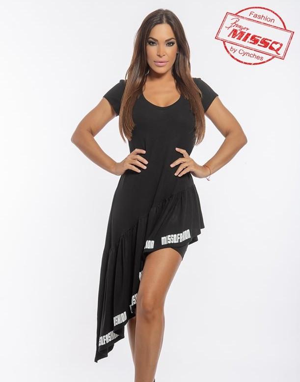 835bdf9795 MISSQ lujzi ruha sorttal fekete - AdryFashion női ruha webáruház ...