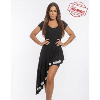MISSQ lujzi ruha sorttal fekete