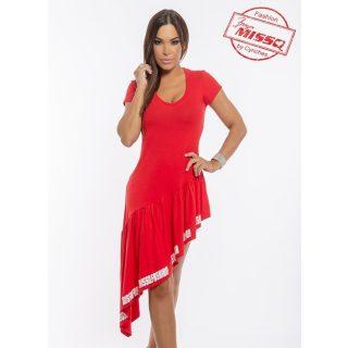 MISSQ lujzi ruha sorttal piros