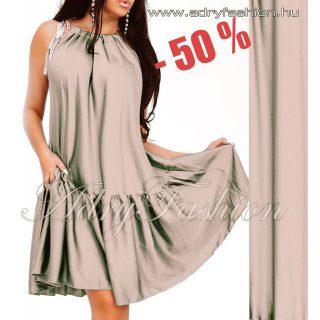 Selyem szatén lenge női ruha