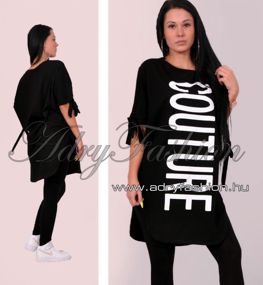 Fekete COUTURE női ruha - AdryFashion női ruha webáruház c80570760e