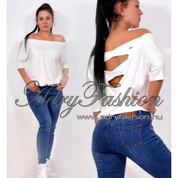 Rensix hátán kereszt pántos felső - AdryFashion női ruha webáruház ... 506d019603