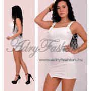 Fehér kantáros női ruha