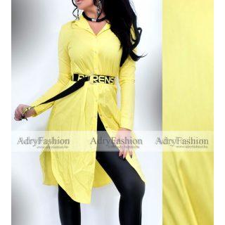 Rensix sárga ing ruha levehető öves