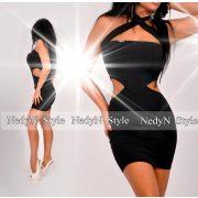 NedyN oldalán nyitott fekete ruha
