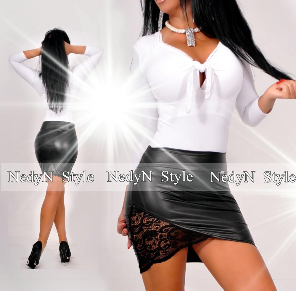 NedyN mellnél megkötős fehér női felső - AdryFashion női ruha ... f92c124735